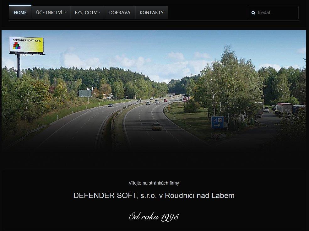 Webové stránky Defendersoft s.r.o.